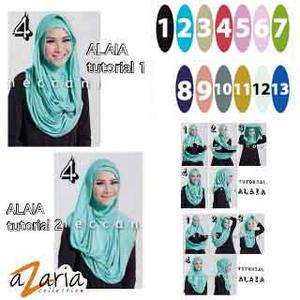 Hijab Instant / Jilbab Instan Alaia / Hijab Sya'i