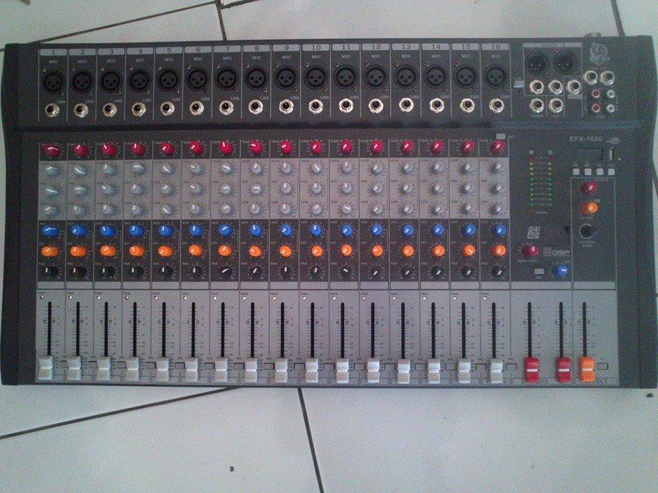 MIXER AUDIO BMA EFX1600 USB 16