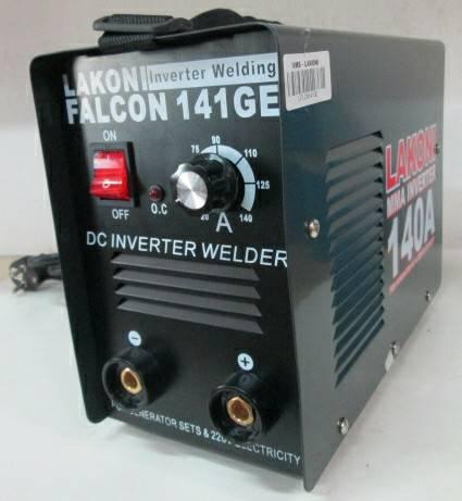 Mesin Las Inverter Lakoni 141ge (bisa genset)
