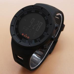 Jam Tangan Pria / Cowok 5.11 Digital Rubber Black