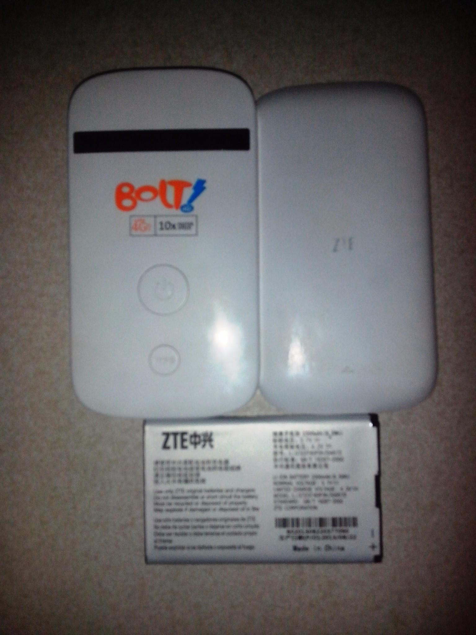 Jual Modem Bolt ZTE MF90 4G