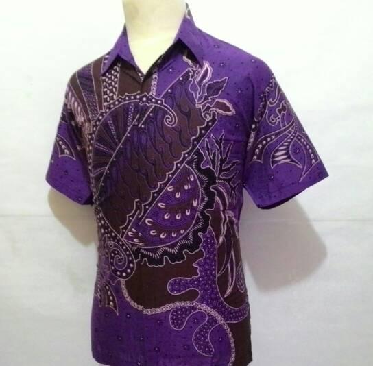 Baju Batik Kerja Cowok: Jual Baju Kemeja Batik Pekalongan Pendek Kerja Pria Cowok