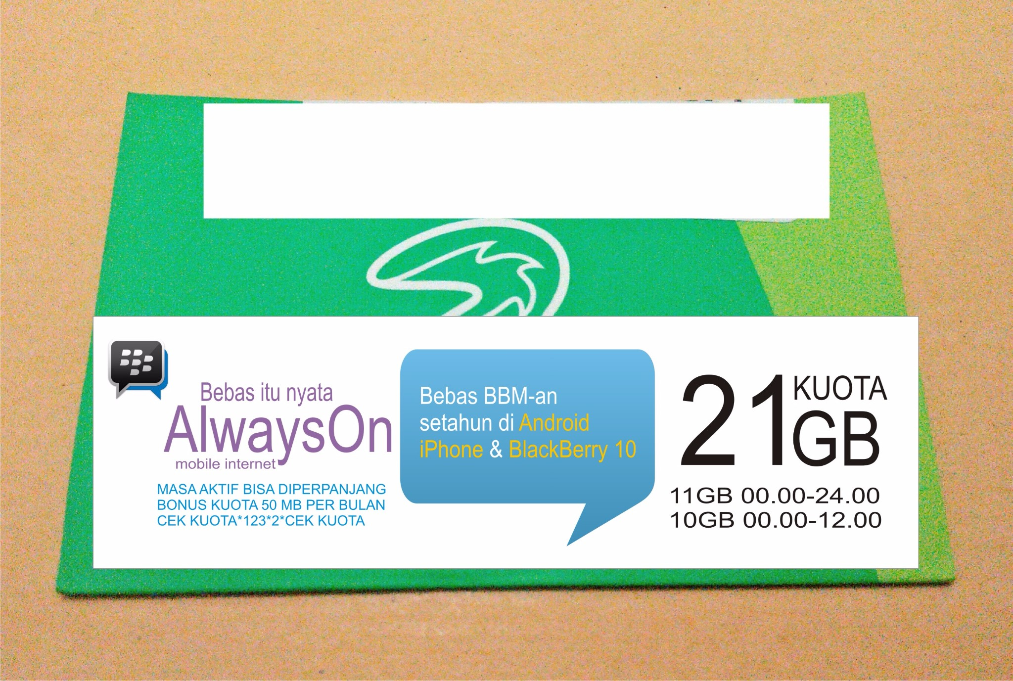 harga Kartu Perdana Internet Tri 3 Three Aon  21GB 21 GB NETMAX Tokopedia.com