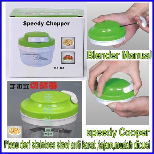 harga Speedy Cooper Blender Manual Praktis Serbaguna Tokopedia.com