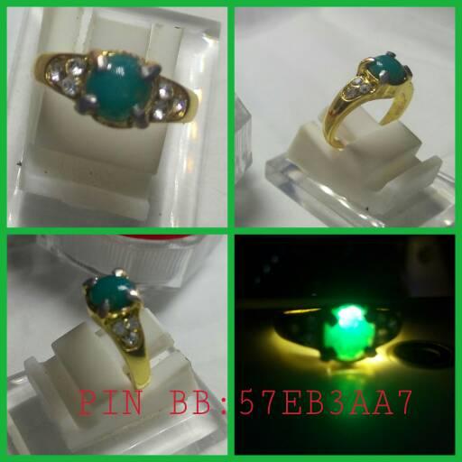 harga cincin batu akik natural bacan doko cristal mini (A-154) Tokopedia.com