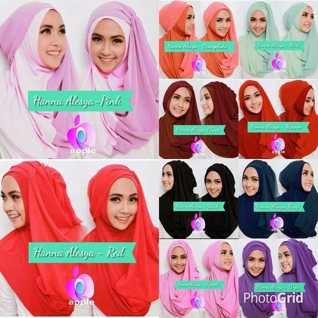 Hijab Instan Jilbab Syari Hanna Alesya