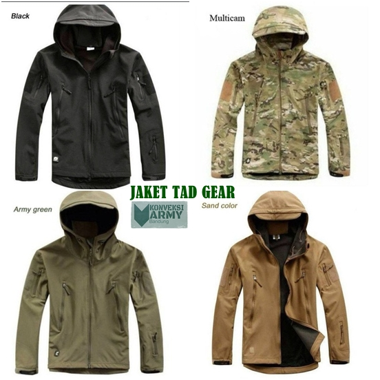jaket TAD gear import outdoor army