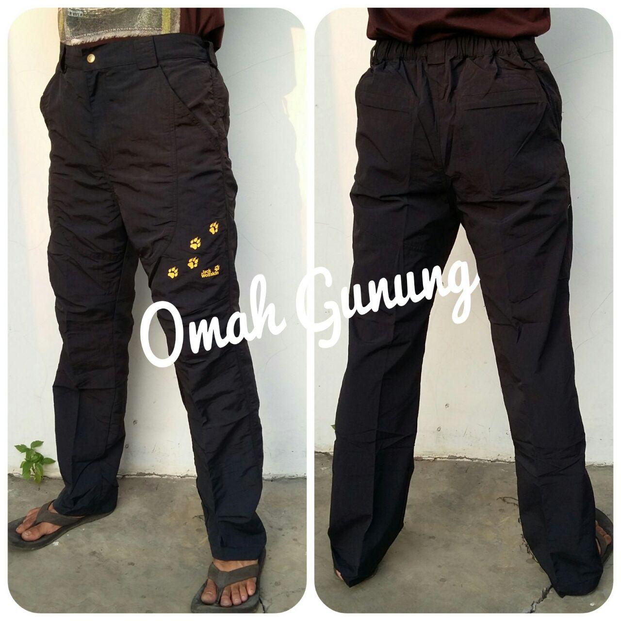 Harga Jual Celana Panjang Quick Dry Pendek Black Yak Original Pant Quickdry Ori Outdoor Gunung Jack Wolfskin