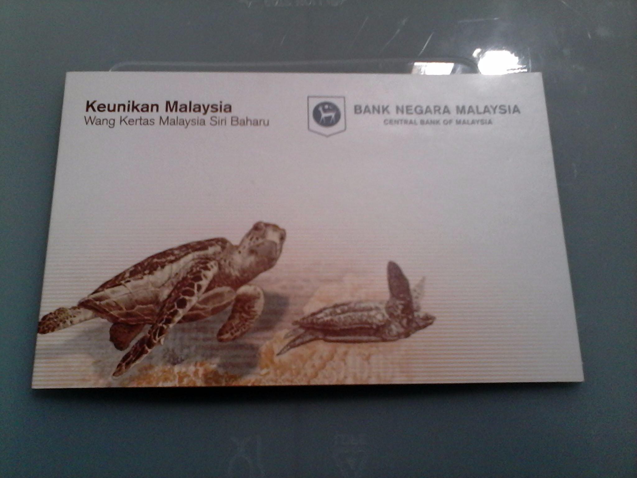 Jual Uang Ringgit Malaysia 20 Rm Dalam Folder Edisi Khusus Damay Store Tokopedia