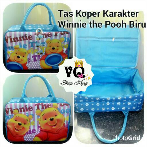 harga Tas Koper Mini Karakter/Gambar Winnie The Pooh Tokopedia.com