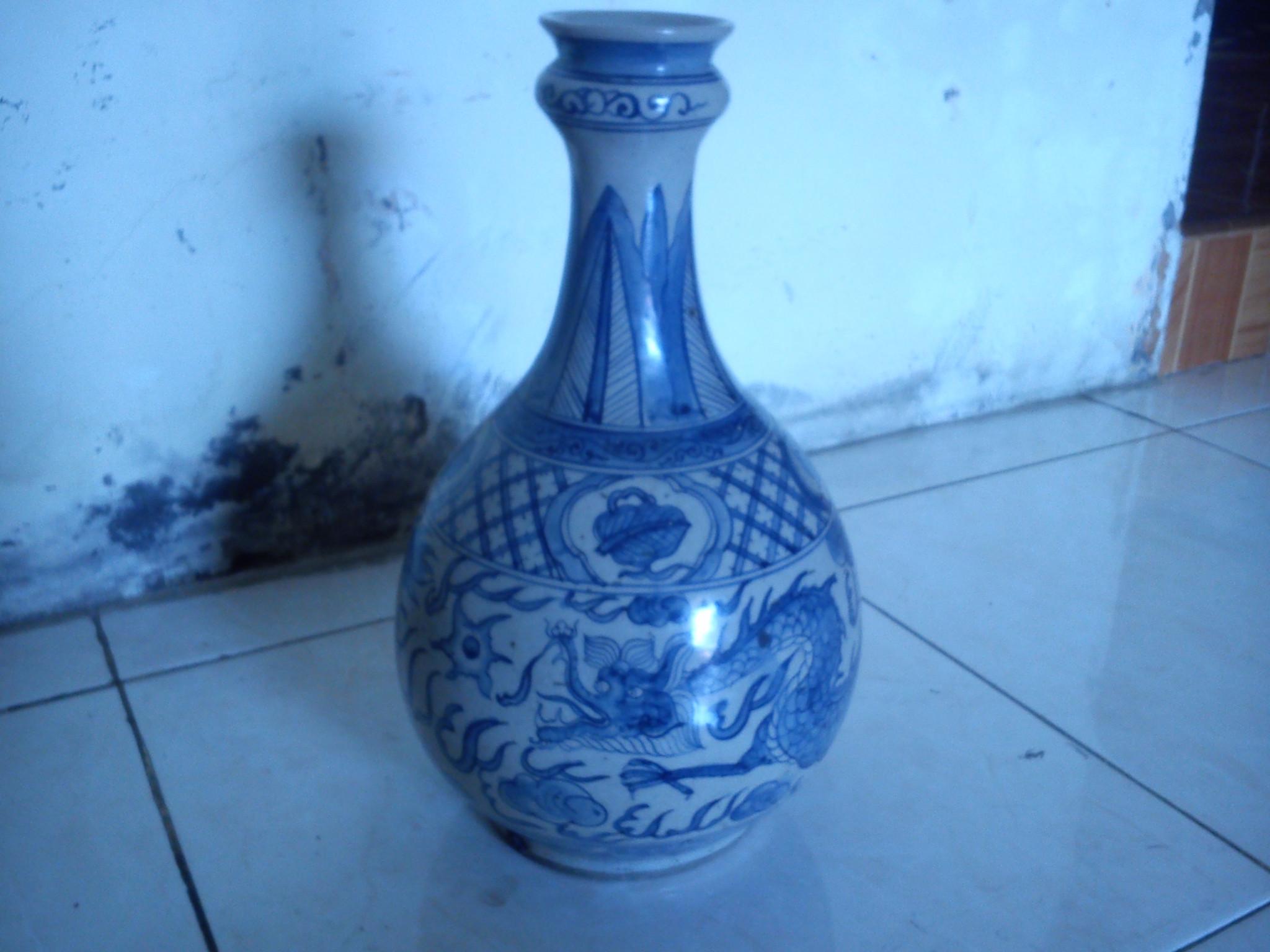 harga Guci / Vas Antik Motif Naga Tokopedia.com