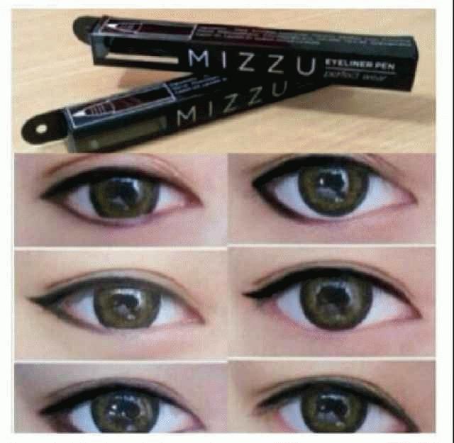 Jual MIZZ U Eyeliner Pen Spidol Eye Liner BLACK