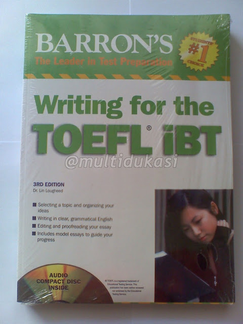 barrons toefl essay writing The toefl (test of english as a foreign language) is an internet-based test, or ibt, and this updated edition of barron's toefl manual simulates the test's internet.