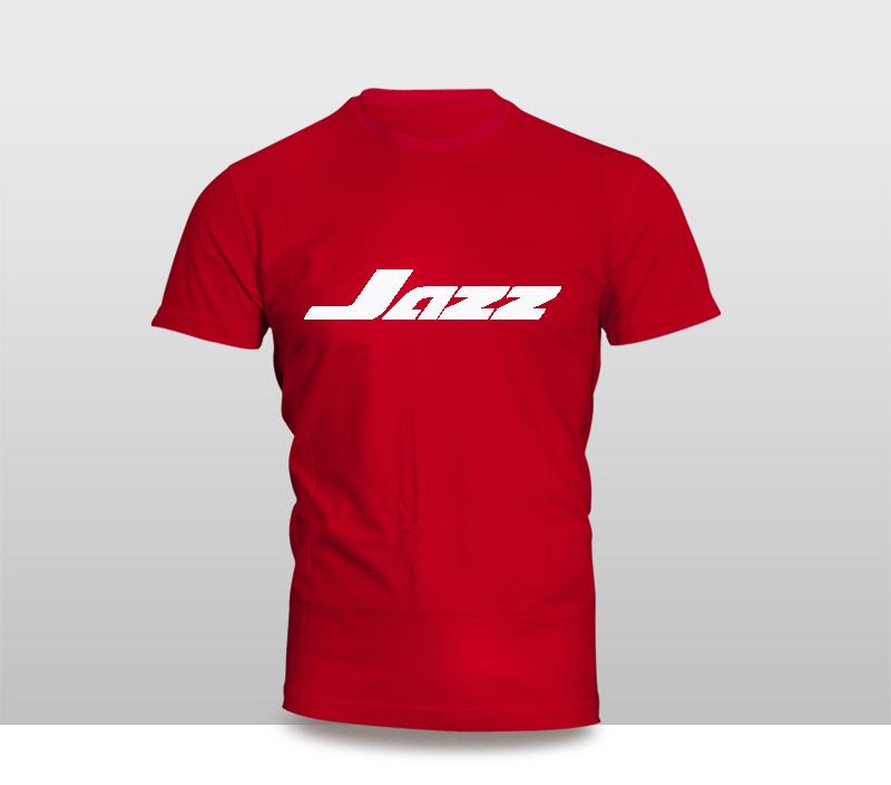 Kaos Baju Pakaian Otomotif Mobil Honda Jazz Logo Murah