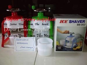 harga JUAL Ice Shaver Manual BB-002 (Bisa Untuk Kado/Hadiah) Tokopedia.com