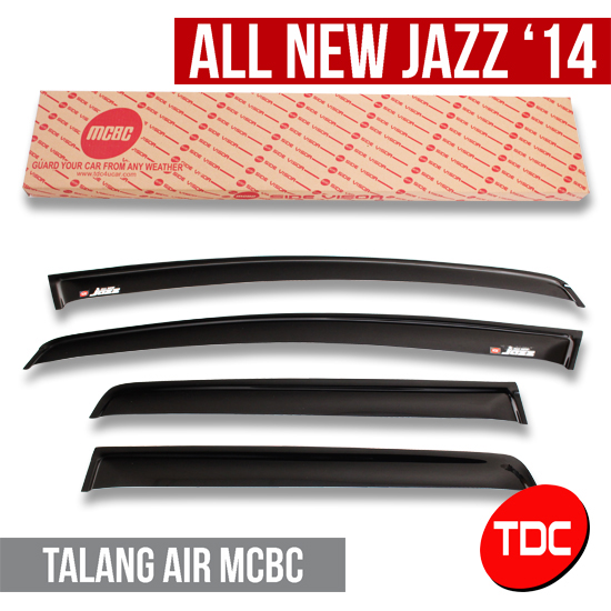 TALANG AIR (SIDE VISOR) MCBC  VARIASI  HONDA ALL NEW JAZZ 2014
