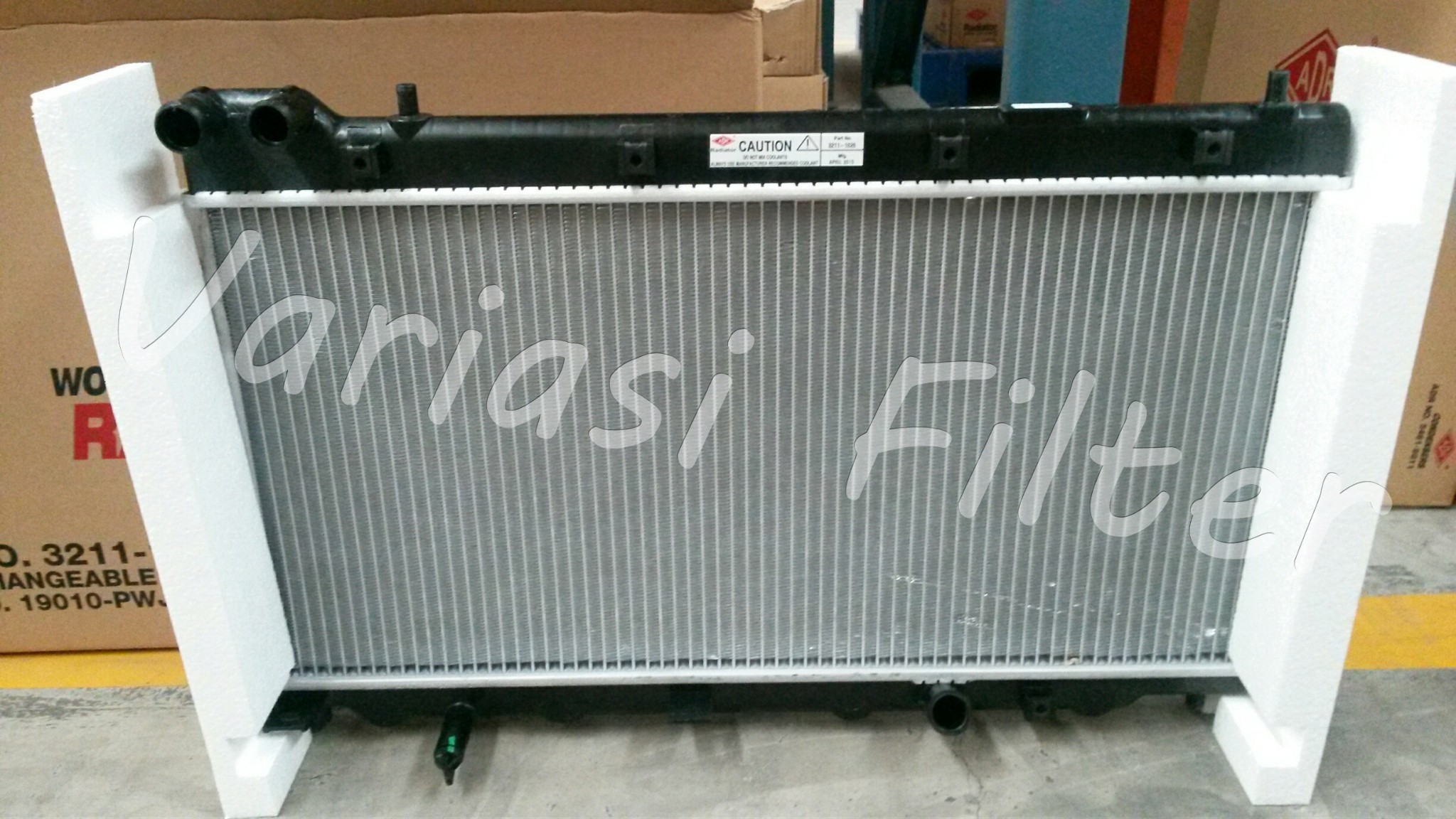 Radiator Jazz tahun '05-'08 versi MANUAL
