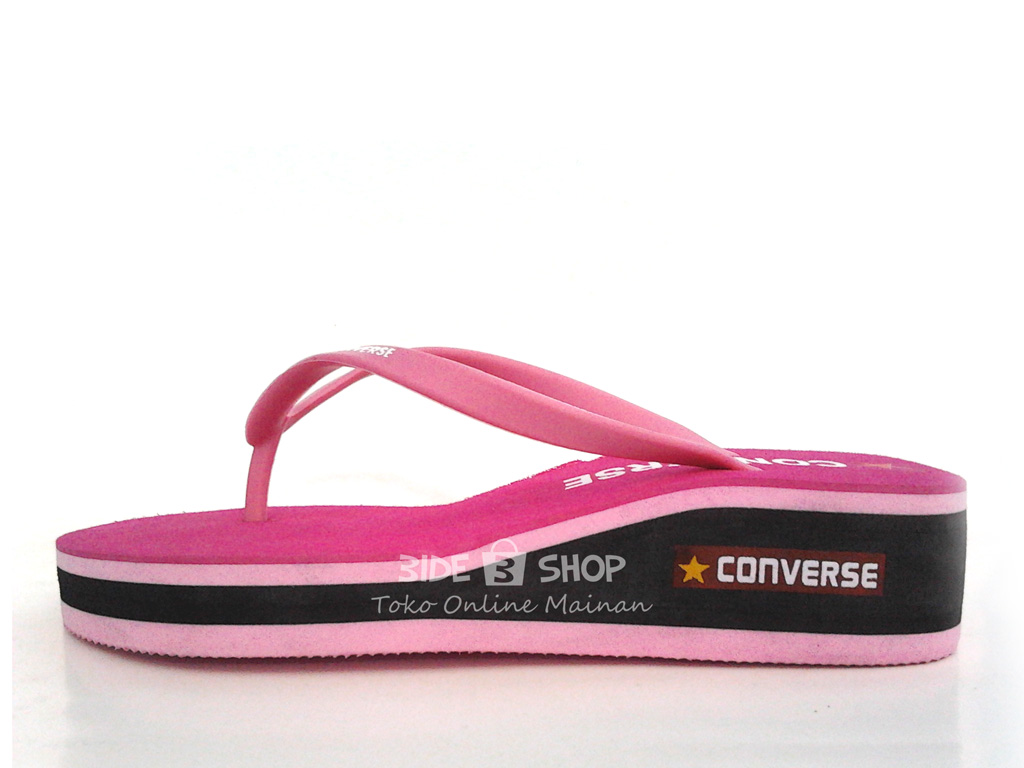 Jual Sandal Jepit Hak Converse Pink Sendal Wanita - Murah ...