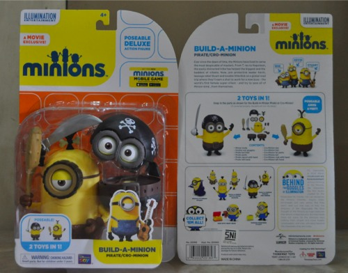 Jual MINIONS - Build-a-Minion Pirate / Cro Minion / Mainan