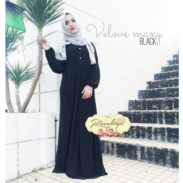 supplier hijab : velove dress ori by rsd
