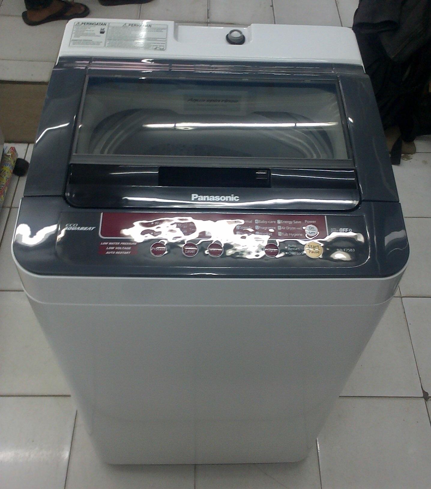 Mesin cuci lg 1 tabung toko elektronik glodok setia mandiri - Jual Panasonic Mesin Cuci 1 Tabung Seri Na F75 B3