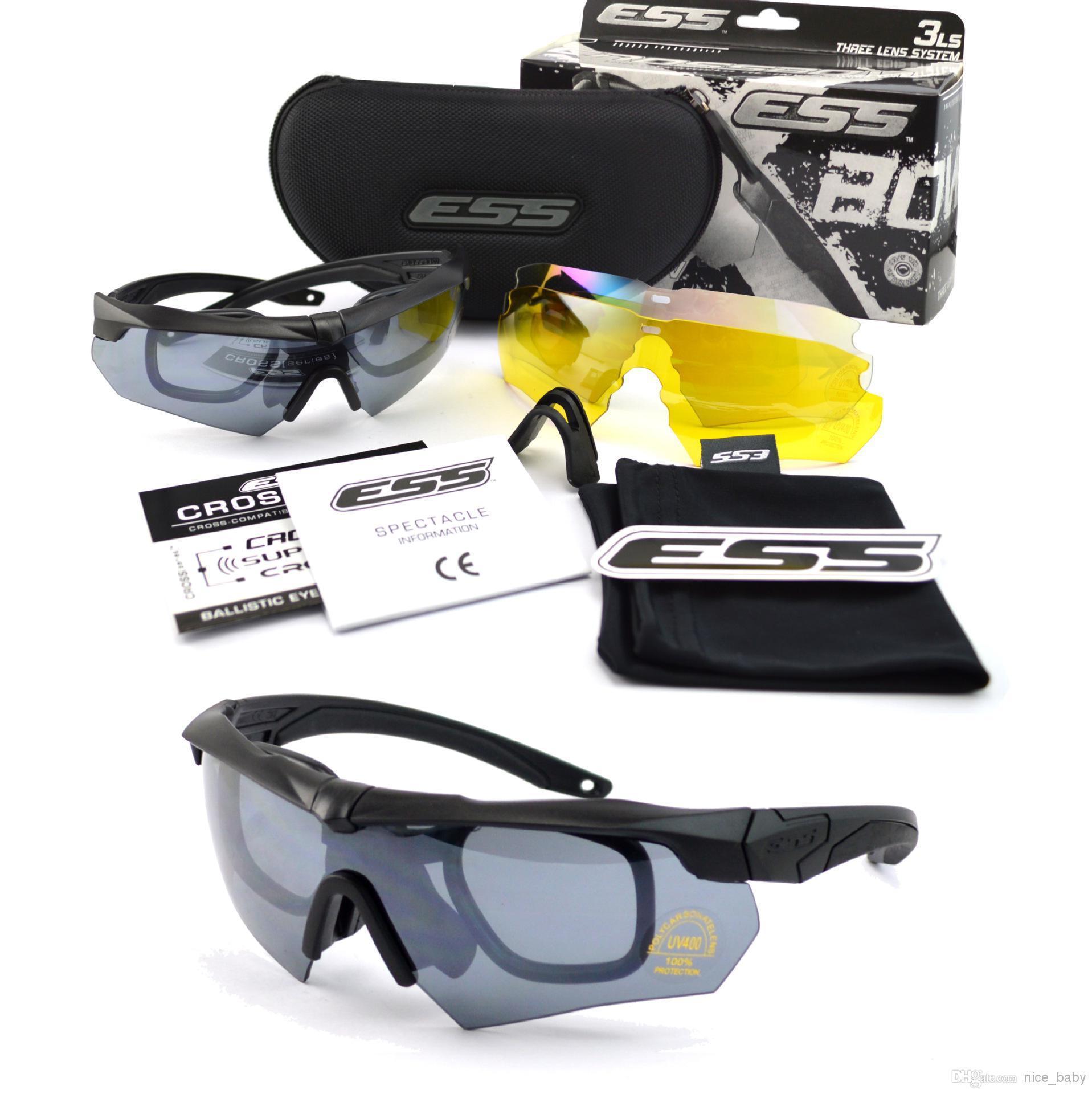 harga kacamata ess crossbow black rep di kota surabaya   jawa timur