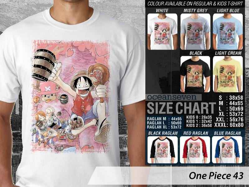 KAOS DISTRO OCEANSEVEN - ONE PIECE EDITION