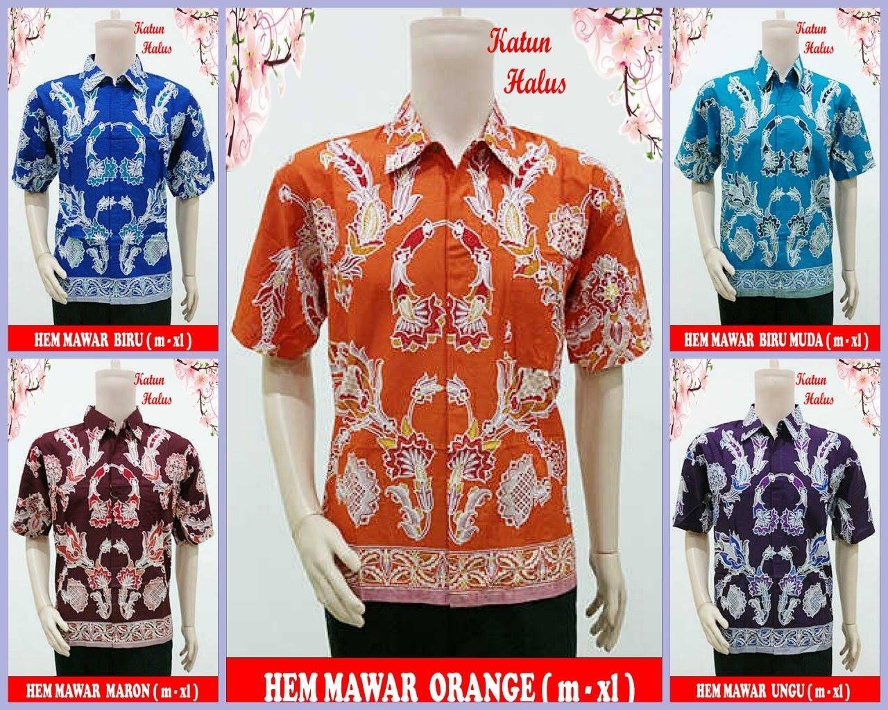Jual Baju Kemeja Pria Murah Rwk Batik Shop Tokopedia