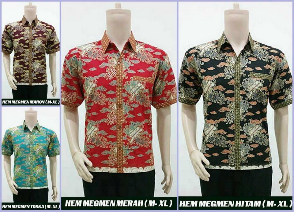 Jual Baju Kemeja Pria Kerja Santai Rwk Batik Shop