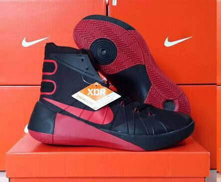 9750fa4a708b ... new style sepatu basket nike hyperdunk 2015 hitam merah . be059 48548