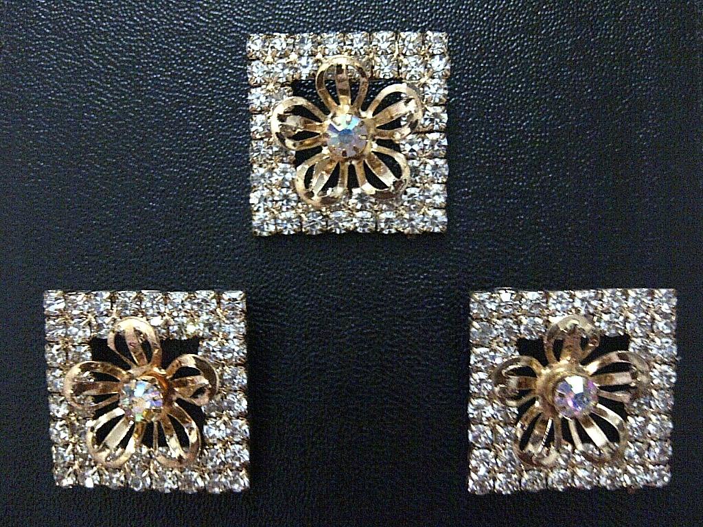 harga Bros / Broch Square Gold Swarovski Crystal Jewerly uk=3x3cm jilbabest Tokopedia.com