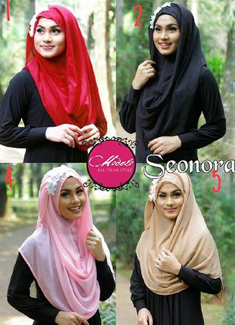 Hijab Murah Pastan Seonora Jilbab Syari