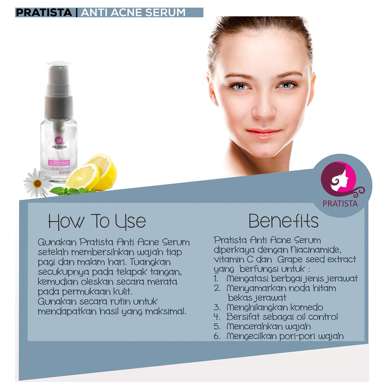 serum anti acne untuk mengobati jerawat new best indonesia