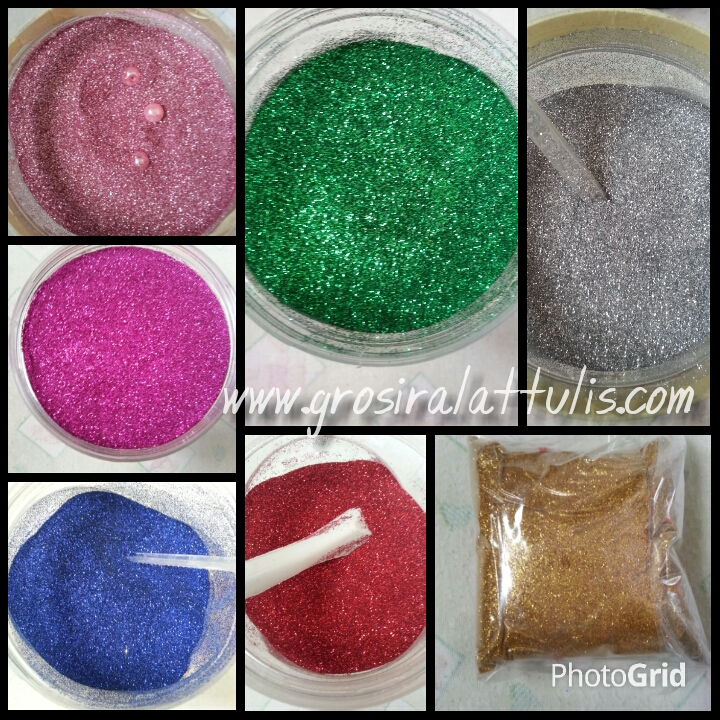Jual Bubuk Glitter Glitter Kiloan Glitter Powder