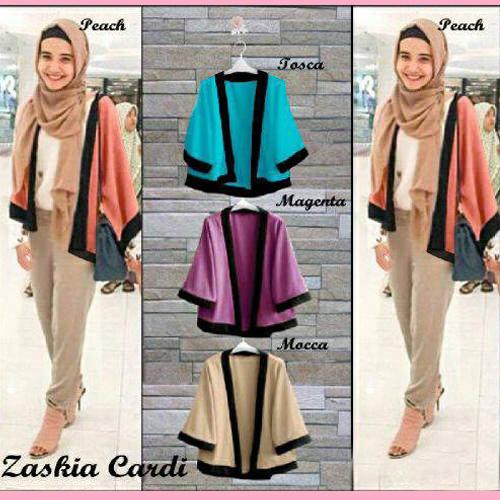 Hijab Fashion Murah : Zaskia Cardi / Kimono