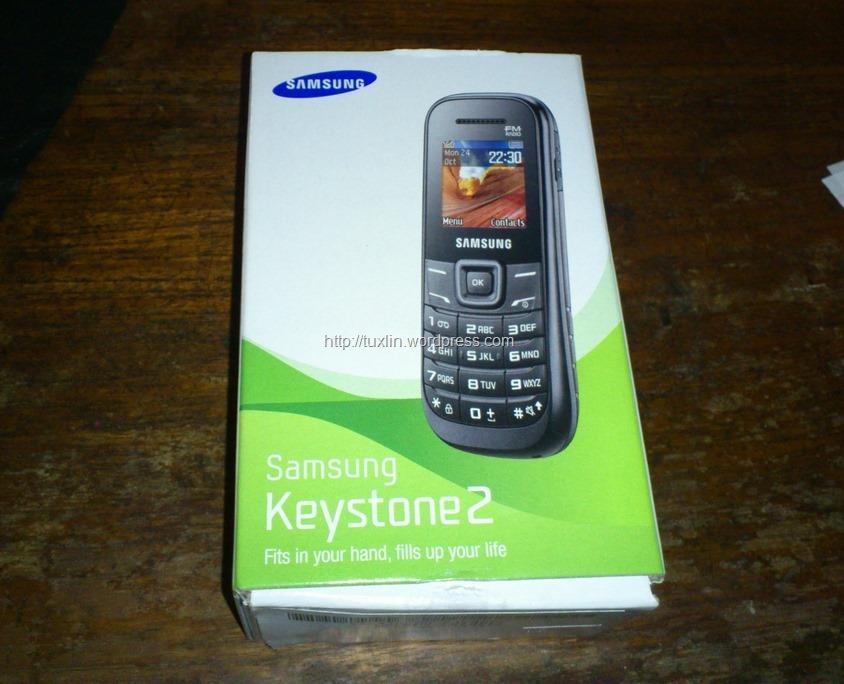Jual Samsung Keystone 2 Gt E1205 Baru Garansi Sein Murah