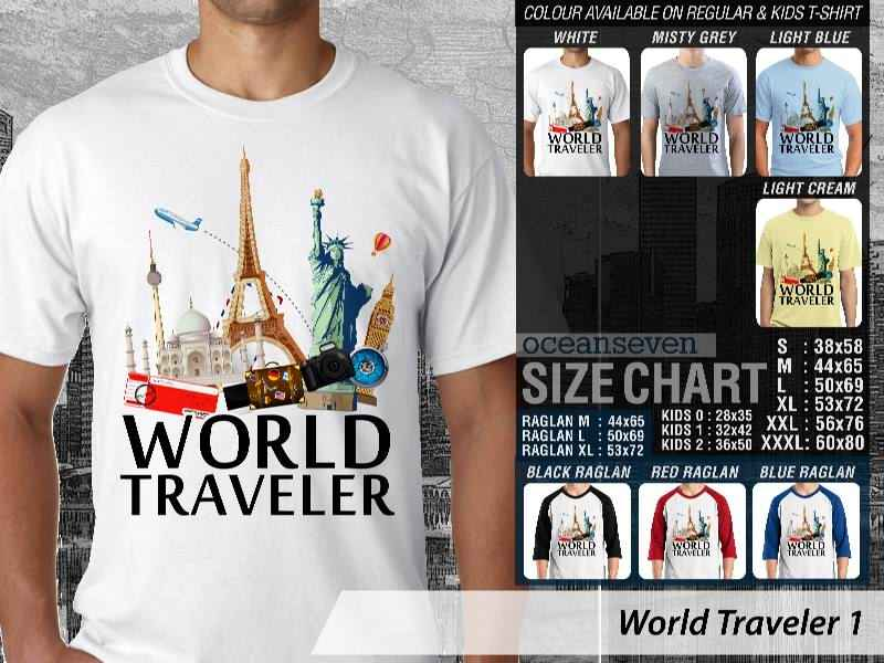 KAOS DISTRO OCEANSEVEN - WORLD TRAVELER
