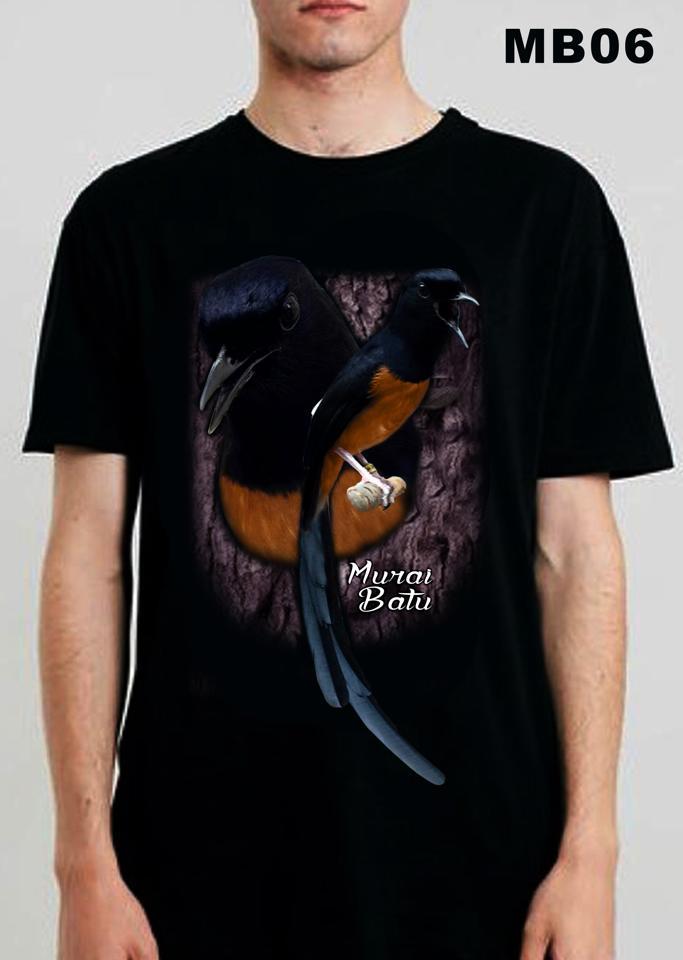 harga Kaos Kicau Mania Murai Batu, Kaos Gambar Burung Murai Tokopedia.com