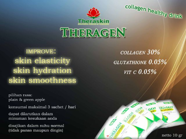 THERASKIN THERAGEN HEALTH SUPPLEMENT