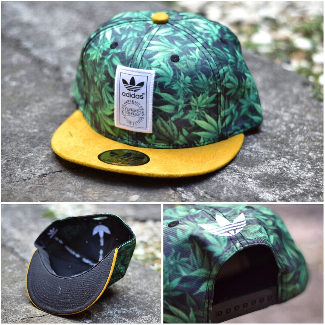 ... netherlands jual topi hats adidas snapback ganja leaf snick o daisy  tokopedia f855a 5e0ee ceecad462d