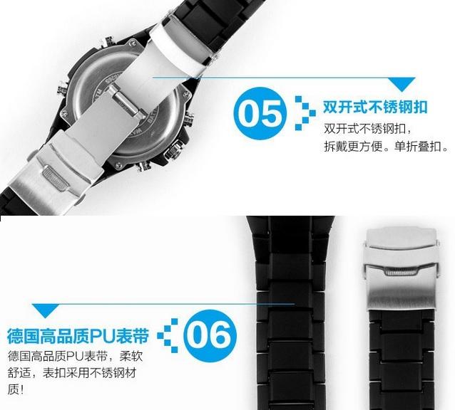 jam tangan watch SKMEI Casio Men Sport LED Watch Water Resistant 50m
