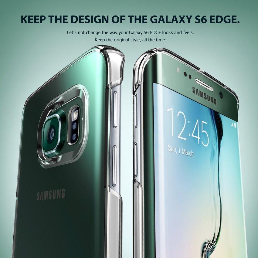 Rearth Ringke For Samsung S6 edge Plus Slim Crystal