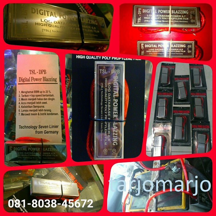 POWER BLAZING 9.7Avanza Xenia Mobilio Jazz Yaris Ertiga Innova Rush