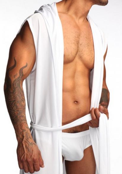 Jual Baju Tidur Pria Tipe Jubah Mimpi Putih Boostwear
