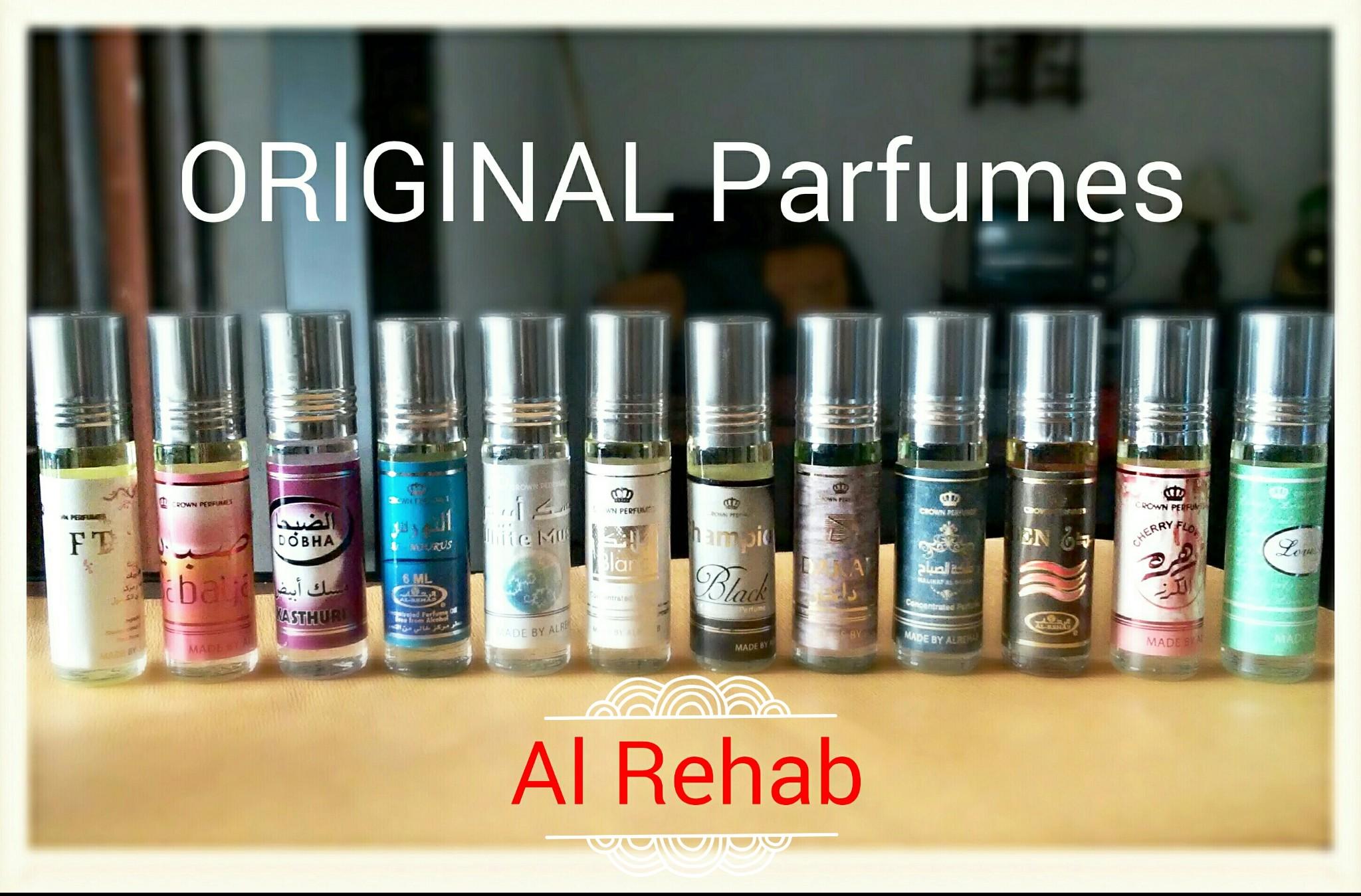 Jual Parfume Al Rehab Dan Dobha Original Non Alkohol 6 Ml Roll On Parfum Soft Arab Tokopedia