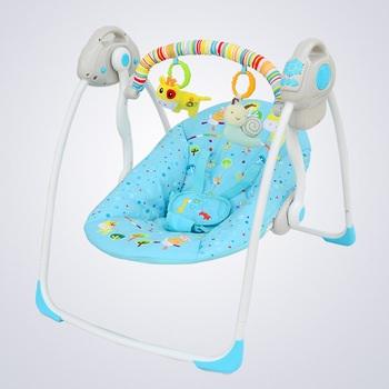 Kasur Ayunan Bayi Otomatis Baby Elle Portable Ayunan Bayi Elektrik
