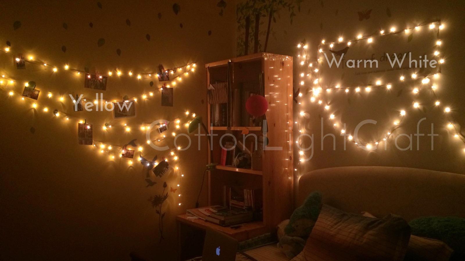 Led Lamp Tumblr Rice Lampu Yellow Daftar Update Natal Hias Warm White Mylight Id Shop Line Source Jual Starry Light