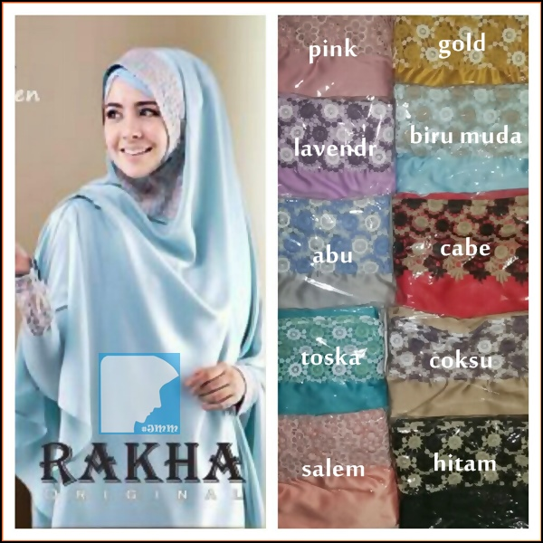 Jual Jual Kerudung ala Risty Tagor - Khimar Risty by Rakha Collection ...