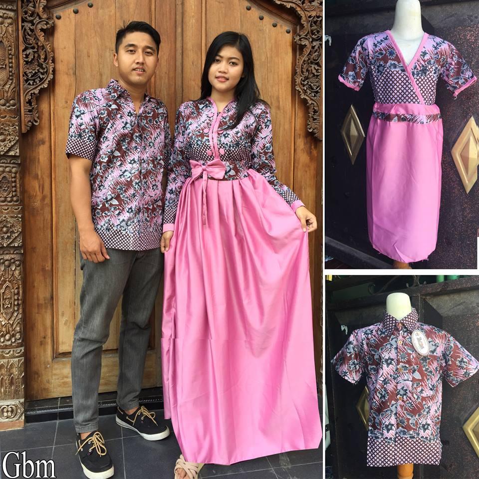 Jual Baju Batik Keluarga Sarimbit Keluarga Couple Family