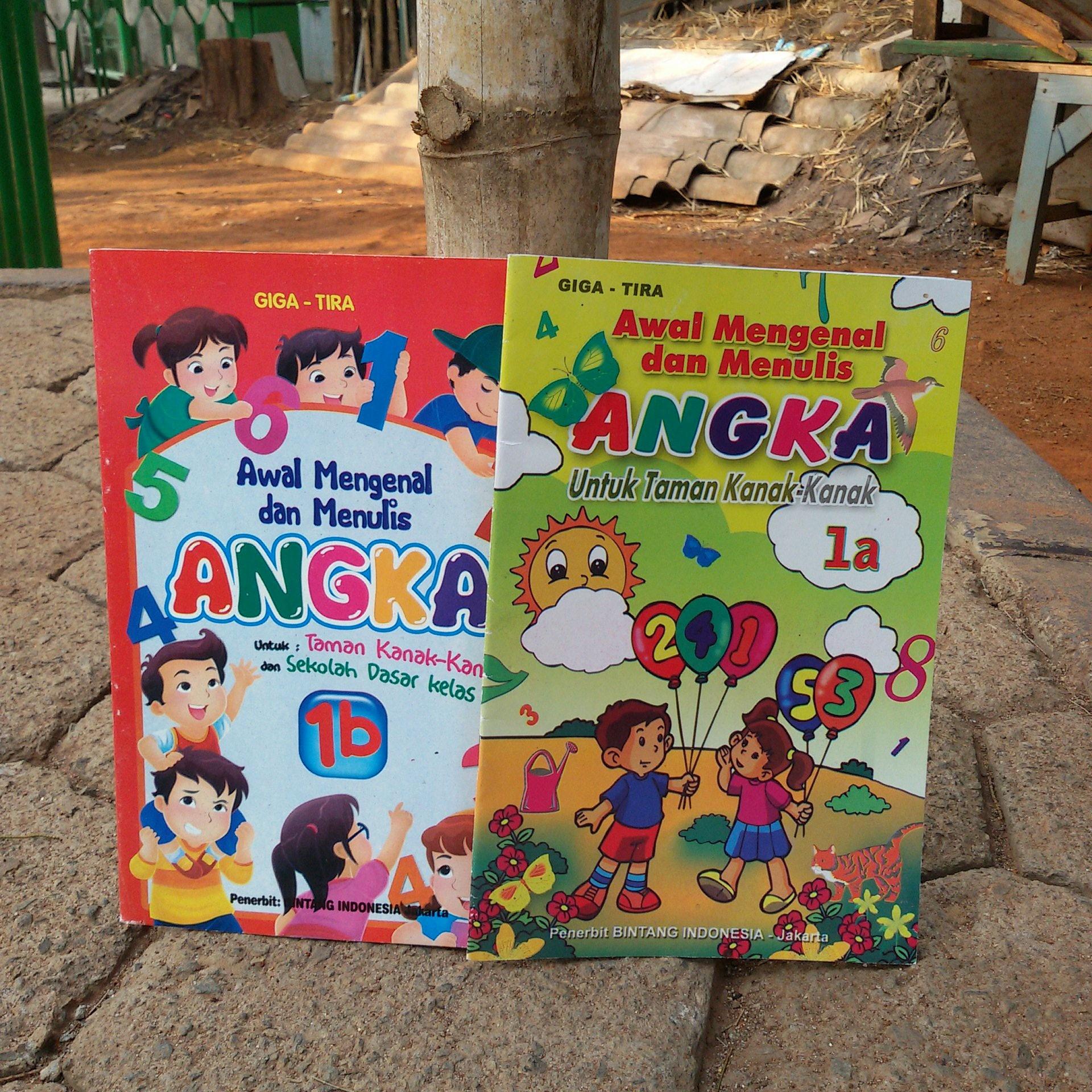 Jual Buku Awal Mengenal & Menulis Angka Untuk PAUD TK SD Keterampilan Anak Kota Administrasi Jakarta Barat kellybutiq